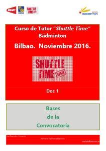 Bilbao. Noviembre 2016