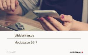 bildderfrau.de Mediadaten Februar 2017