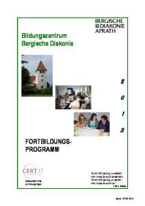 Bildungszentrum Bergische Diakonie