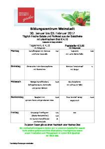 Bildungszentrum Weinstadt