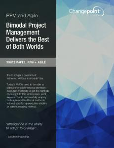 Bimodal Project Management Delivers the Best of Both Worlds