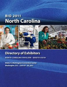 BIO 2011 North Carolina