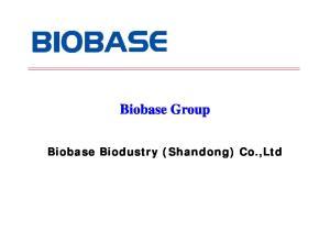 Biobase Group. Biobase Biodustry (Shandong) Co.,Ltd