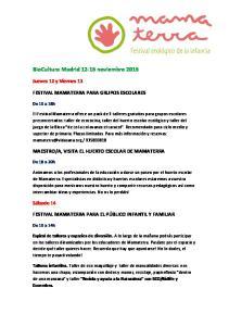 BioCultura Madrid noviembre 2015