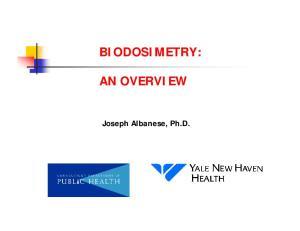 BIODOSIMETRY: AN OVERVIEW