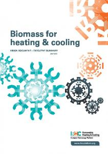 Biomass for heating & cooling