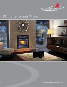 Biomass-Wood-Pellet. Innovative Hearth Solutions