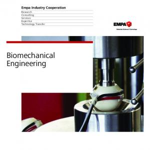 Biomechanical Engineering