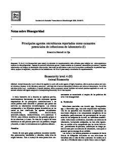 Biosecurity level 4 (II) Animal Biosecurity