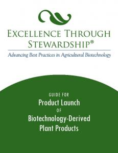 Biotechnology-Derived Plant Products
