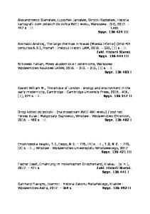 Birkowski Fabian, Mowy akademickie I polemiczne, Warszawa : Wydawnictwo Naukowe UKSW, , [1] s. : il. Sygn I