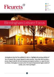 Birmingham Leisure Focus