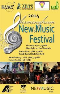 Birmingham New Music Festival 2014