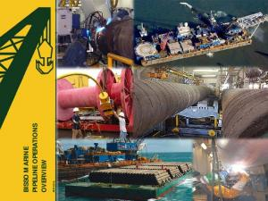 BISSO MARINE PIPELINE OPERATIONS OVERVIEW