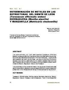 Bistua Vol. 3 No. 1 ISSN