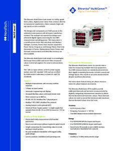 Bitronics MultiComm TM Digital Power Meter