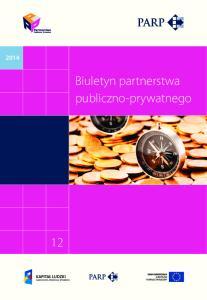 Biuletyn partnerstwa publiczno-prywatnego