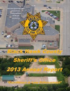Black Hawk County Sheriff s Office
