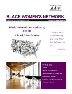 BLACK WOMEN S NETWORK