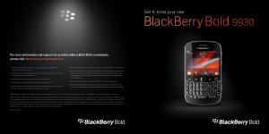 BlackBerry Bold Get to know your new