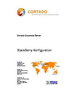 BlackBerry-Konfiguration