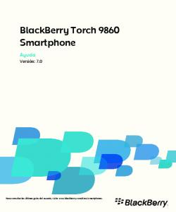 BlackBerry Torch 9860 Smartphone