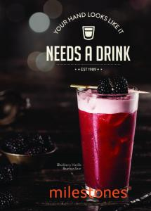 Blackberry Vanilla Bourbon Sour