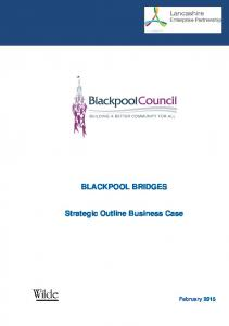 BLACKPOOL BRIDGES. Strategic Outline Business Case
