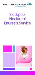 Blackpool Nocturnal Enuresis Service