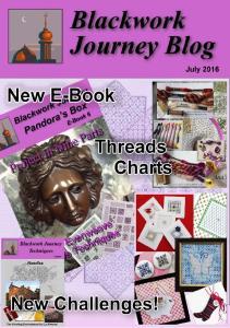 Blackwork Journey Blog, July 2016