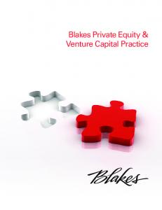 Blakes Private Equity & Venture Capital Practice