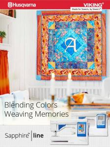 Blending Colors Weaving Memories