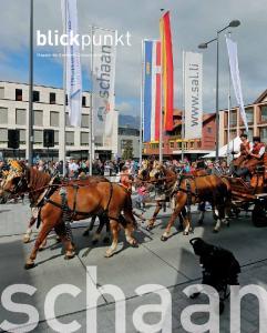 blickpunkt Magazin der Gemeinde Schaan, Herbst 2013