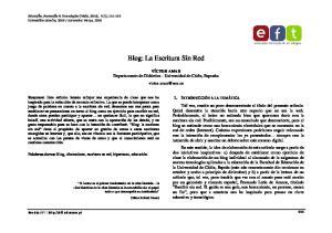 Blog: La Escritura Sin Red