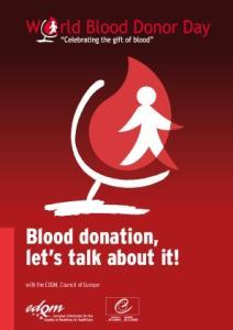 Blood donation, let s talk about it!