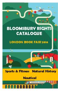 BLOOMSBURY RIGHTS CATALOGUE