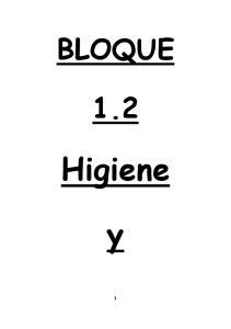 BLOQUE 1.2 Higiene y 1