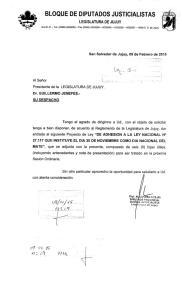 BLOQUE DE DIPUTADOS JUSTICIALISTAS