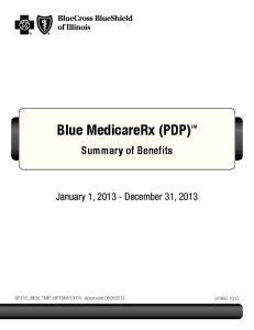 Blue MedicareRx (PDP) SM