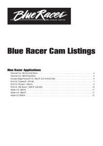 Blue Racer Cam Listings