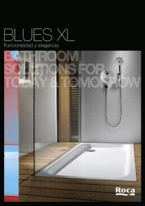 BLUES XL. Funcionalidad y elegancia