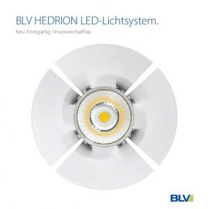 BLV HEDRION LED-Lichtsystem. Neu. Einzigartig. Unverwechselbar