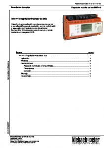 BMR410 Regulador modular de bus