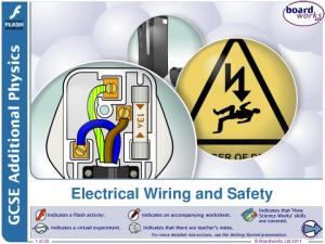 Boardworks Ltd Electrical Wiring and Safety