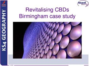 Boardworks Ltd Revitalising CBDs Birmingham case study