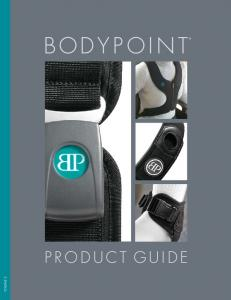 bodypoint product guide Volume 2