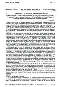 BOLETIN OFICIAL DE LA RIOJA