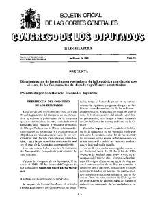 BOLETIN OFICIAL DE LAS CORTES GENERALES
