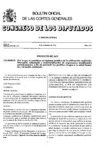 BOLETN OFICIAL DE LAS CORTES GENERALES