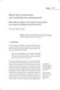Boleto de compraventa: es el contrato de compraventa?